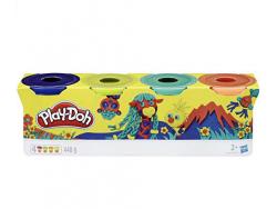 Acheter 4 pots de pâte à modeler - couleurs nature - Play Doh - 6,99€ en ligne sur La Petite Epicerie - Loisirs créatifs