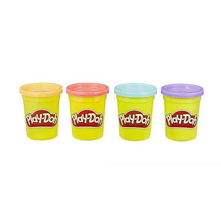 Acheter 4 pots de pâte à modeler - couleurs sorbet - Play Doh - 6,99€ en ligne sur La Petite Epicerie - Loisirs créatifs