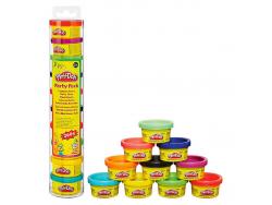 Acheter Tube de 10 mini pots de pâte à modeler - party pack turm - Play Doh - 8,99€ en ligne sur La Petite Epicerie - 100% L...