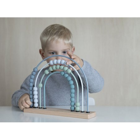 Acheter Arc en ciel boulier - bleu - Little Dutch - 14,99€ en ligne sur La Petite Epicerie - Loisirs créatifs