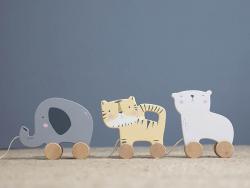 Acheter Jouet à tirer en bois - tigre - Little Dutch - 8,99€ en ligne sur La Petite Epicerie - 100% Loisirs créatifs