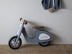 Acheter Draisienne scooter en bois - bleu - Little Dutch - 89,99€ en ligne sur La Petite Epicerie - 100% Loisirs créatifs