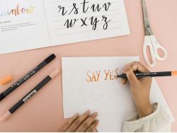 Acheter Atelier Lettering Amélie's Workshop - Dimanche 1er Décembre de 12h à 13h - 3,00€ en ligne sur La Petite Epicerie - 1...