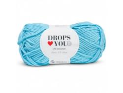 Acheter Drops loves you 8 - Coton - 10 turquoise - 1,05€ en ligne sur La Petite Epicerie - Loisirs créatifs