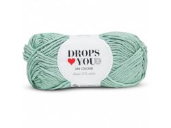Acheter Drops loves you 8 - Coton - 09 menthe - 1,05€ en ligne sur La Petite Epicerie - Loisirs créatifs