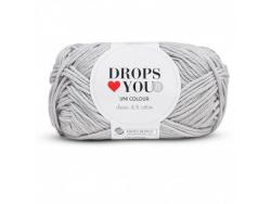 Acheter Drops loves you 8 - Coton - 03 gris - 1,05€ en ligne sur La Petite Epicerie - Loisirs créatifs