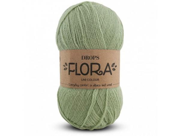 Acheter Laine Drops - Flora - 15 vert - 2,65€ en ligne sur La Petite Epicerie - Loisirs créatifs