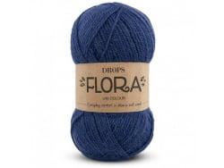 Acheter Laine Drops - Flora - 10 indigo - 2,80€ en ligne sur La Petite Epicerie - Loisirs créatifs