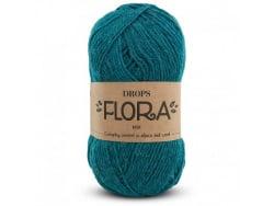 Acheter Laine Drops - Flora - 11 pétrole - 2,80€ en ligne sur La Petite Epicerie - Loisirs créatifs