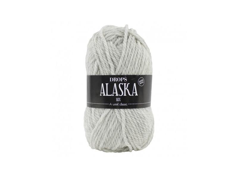 Acheter Laine Drops - Alaska - 63 gris perle - 2,30€ en ligne sur La Petite Epicerie - Loisirs créatifs
