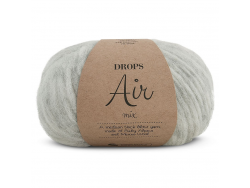 Acheter Laine Drops - Air - 03 gris perle (mix) - 5,60€ en ligne sur La Petite Epicerie - Loisirs créatifs