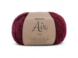 Acheter Laine Drops - Air - 07 rouge rubis - 5,60€ en ligne sur La Petite Epicerie - 100% Loisirs créatifs