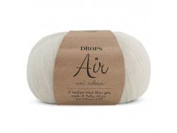 Acheter Laine Drops - Air - 01 naturel - 5,60€ en ligne sur La Petite Epicerie - 100% Loisirs créatifs