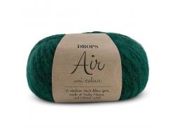 Acheter Laine Drops - Air -19 vert forêt (uni) - 5,60€ en ligne sur La Petite Epicerie - Loisirs créatifs