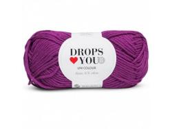 Acheter Drops loves you 8 - Coton - 13 bruyère foncé - 1,05€ en ligne sur La Petite Epicerie - Loisirs créatifs