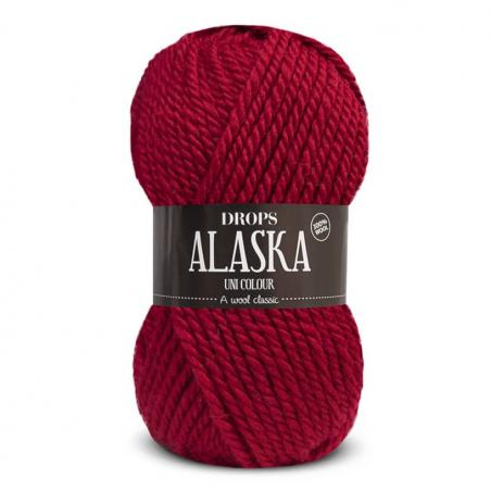 Acheter Laine Drops - Alaska 11 - rouge foncé - 2,30€ en ligne sur La Petite Epicerie - 100% Loisirs créatifs