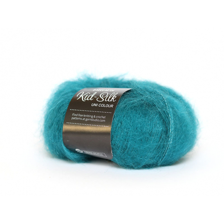 Acheter Laine Drops - Kid Silk - 24 pétrole - 4,50€ en ligne sur La Petite Epicerie - Loisirs créatifs