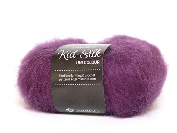 Acheter Laine Drops - Kid Silk 16 - violet foncé - 4,50€ en ligne sur La Petite Epicerie - Loisirs créatifs