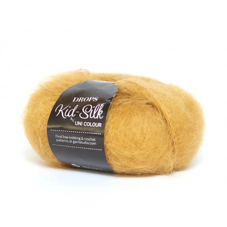 Acheter Laine Drops - Kid Silk - 30 curry - 4,50€ en ligne sur La Petite Epicerie - Loisirs créatifs