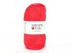 Acheter Drops loves you 7 - Coton - 16 rouge - 1,05€ en ligne sur La Petite Epicerie - Loisirs créatifs