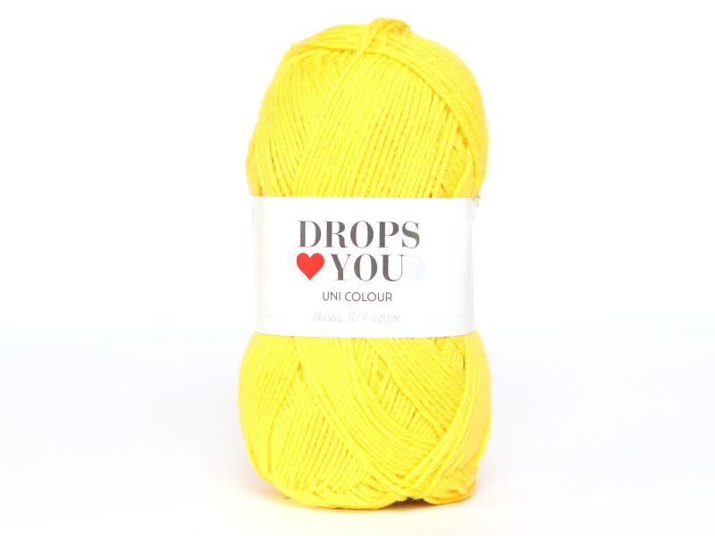 Acheter Drops loves you 7 - Coton - 09 jaune - 1,05€ en ligne sur La Petite Epicerie - 100% Loisirs créatifs