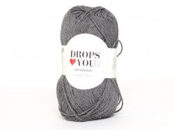 Acheter Drops loves you 9 - Coton - 104 gris foncé - 0,85€ en ligne sur La Petite Epicerie - Loisirs créatifs