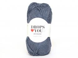 Acheter Drops loves you 9 - Coton - 114 bleu tempête - 0,85€ en ligne sur La Petite Epicerie - Loisirs créatifs