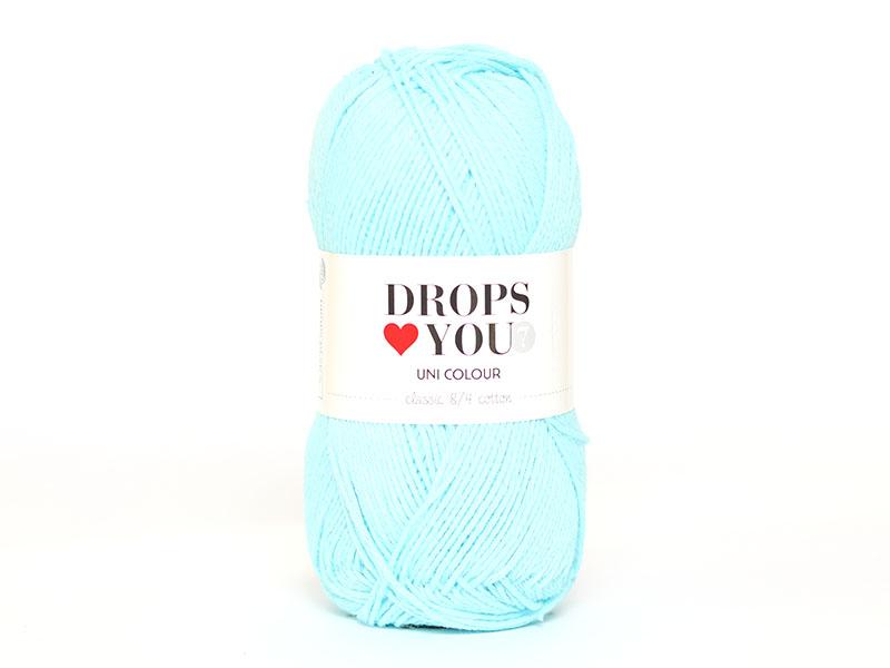 Acheter Drops loves you 7 - Coton - 19 Turquoise clair - 1,05€ en ligne sur La Petite Epicerie - 100% Loisirs créatifs