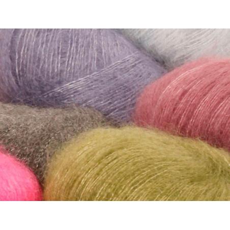 Acheter Laine Drops - Kid Silk - 03 rose pâle - 4,50€ en ligne sur La Petite Epicerie - Loisirs créatifs