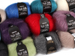 Acheter Laine Drops - Kid Silk - 01 écru - 4,85€ en ligne sur La Petite Epicerie - Loisirs créatifs