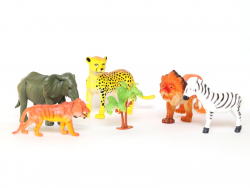 Acheter Set de figurines géantes - Animaux Sauvages - Keycraft - 8,49€ en ligne sur La Petite Epicerie - Loisirs créatifs