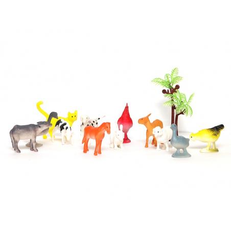 Acheter Tube de figurines Animaux de la ferme - Keycraft - 5,69€ en ligne sur La Petite Epicerie - Loisirs créatifs