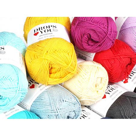 Acheter Drops loves you 7 - Coton - 02 noir - 1,05€ en ligne sur La Petite Epicerie - Loisirs créatifs