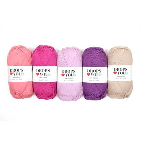 Acheter Drops loves you 7 - Coton - 13 vieux rose - 1,05€ en ligne sur La Petite Epicerie - 100% Loisirs créatifs