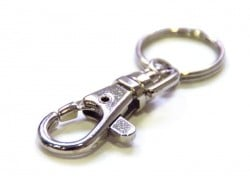 1 Porte-clefs mousqueton - accessoire loisirs créatifs  - 1