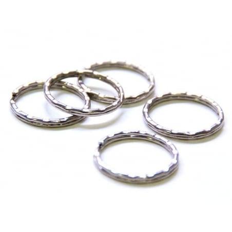 Acheter 1 anneau à porte clefs - cranté - 0,29€ en ligne sur La Petite Epicerie - 100% Loisirs créatifs
