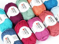 Acheter Drops loves you 8 - Coton - 12 bleu cyan - 1,05€ en ligne sur La Petite Epicerie - Loisirs créatifs
