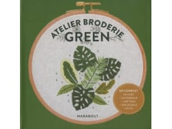 Acheter Kit Atelier Broderie Green - Marabout - 9,95€ en ligne sur La Petite Epicerie - Loisirs créatifs