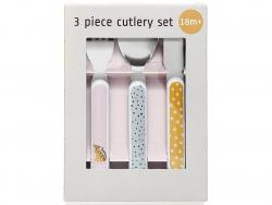 Acheter Set de 3 couverts - Léopards - 9,89€ en ligne sur La Petite Epicerie - Loisirs créatifs