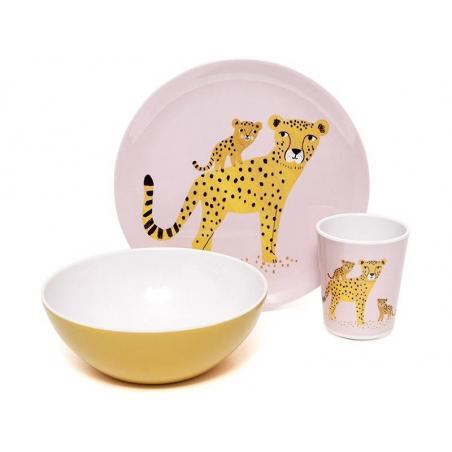 Acheter Bol léopard en mélamine - ocre - 7,49€ en ligne sur La Petite Epicerie - 100% Loisirs créatifs