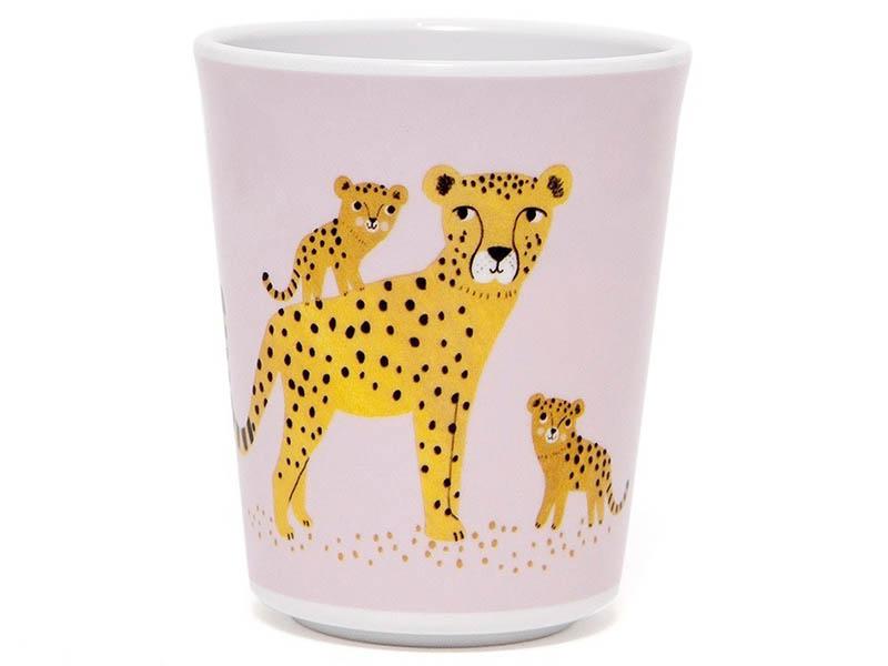 Acheter Gobelet léopards en mélamine - rose - 5,89€ en ligne sur La Petite Epicerie - Loisirs créatifs