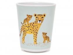 Acheter Gobelet léopards en mélamine - bleu - 5,89€ en ligne sur La Petite Epicerie - 100% Loisirs créatifs