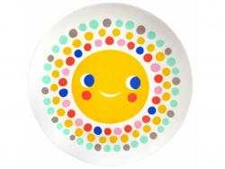 Acheter Assiette plate en mélamine - soleil - 6,59€ en ligne sur La Petite Epicerie - Loisirs créatifs