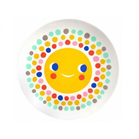 Acheter Assiette plate en mélamine - soleil - 6,59€ en ligne sur La Petite Epicerie - 100% Loisirs créatifs