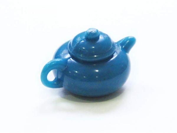 Théière bleue  miniature  - 1
