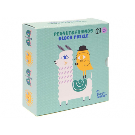 Acheter Puzzle 9 pièces en bois - Peanut & friends - 14,99€ en ligne sur La Petite Epicerie - Loisirs créatifs