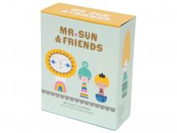 Acheter Set de 8 personnages en bois - Mr Sun & Friends - 27,99€ en ligne sur La Petite Epicerie - Loisirs créatifs