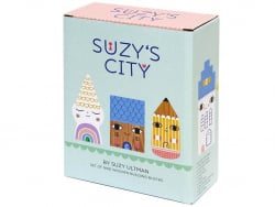 Acheter Set de 9 maisons en bois - Suzy's City - 30,99€ en ligne sur La Petite Epicerie - Loisirs créatifs