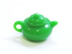 Grüne Teekanne