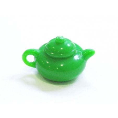 Théière verte  - 1